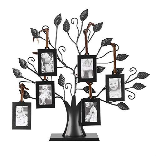 Baum-Fotorahmen, Eisen Familienbaum mit 6/12 hängenden...