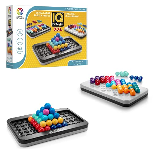 smart games - IQ Puzzler Pro XXL, Kinderpuzzle, Logik, extra...