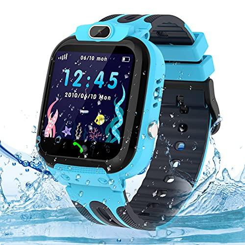 Smartwatch Kinder Uhr Tracker, Wasserdicht Kinder Smartwatch für...