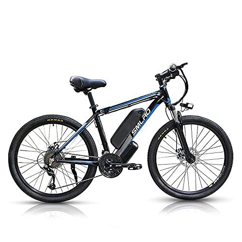 26 Zoll E-Bike Mountainbike C6, Elektrofahrrad E Bike mit 1000W...