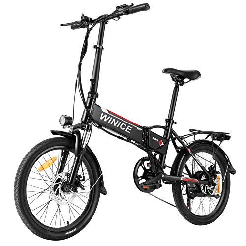 VIVI City E-Bike Elektrofahrrad, 20 Zoll Elektro Klapprad E...