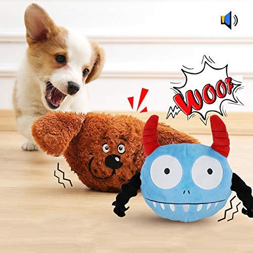 Namsan Hundespielzeug Bounce Interaktives Spielzeug für Hunde...