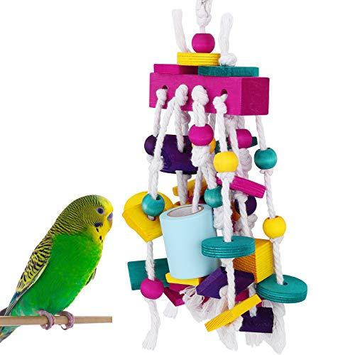 Pawaboo Vogelspielzeug, Papagei Sittiche Hängend Kauen Spielzeug...