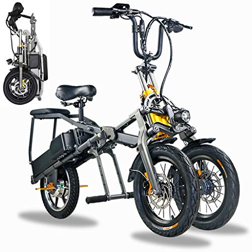 Elektrofahrrad Klappbar Dreirad Erwachsene Mountainbikes 250-350W...