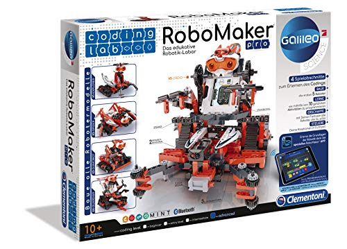 Clementoni 59078 Galileo Science – Coding Lab RoboMaker PRO,...