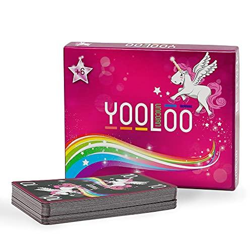 YOOLOO Unicorn - Das Coole Kartenspiel für Kinder, Eltern und...