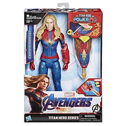 Hasbro Avengers E3307EW0 - Titan Hero Power FX Captain Marvel,...