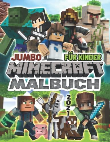 Mínecraft Malbuch: Ultimative Mínecraft Malbuch: Farbe mich! -...