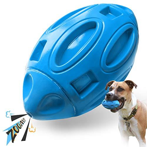 EASTBLUE Quietschendes Hundespielzeug für Aggressive Kauer:...