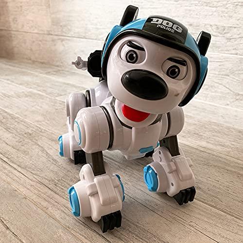 WDSWBEH Fernbedienung Roboter Polizeihund Rc Interaktiv...