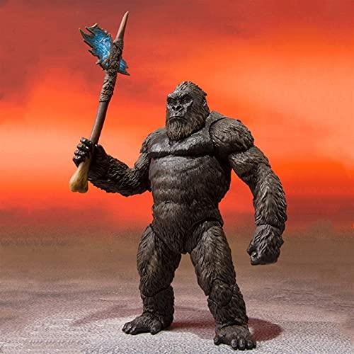 LIANGLMY Figur Film King Kong Action Figure Spielzeug Figur...