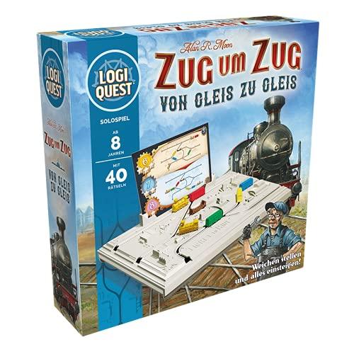 Asmodee Logiquest - Zug um Zug, Familienspiel, Rätselspiel,...