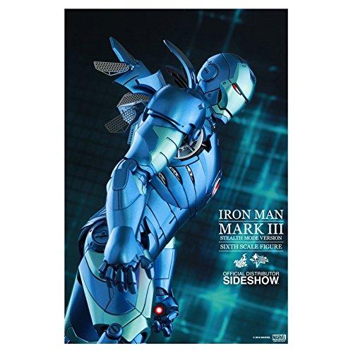Avengers–Figur Iron Man Mark III Stealth Mode Version 2015,...