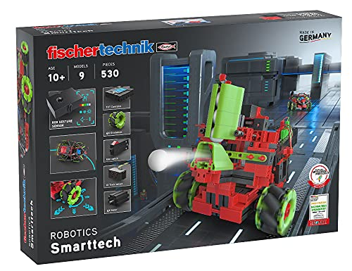 fischertechnik Bausatz Robotics Smarttech mit coolen Omniwheels -...