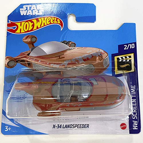 Hot Wheels X-34 Landspeeder Star Wars HW Screen Time 2/10 2021...