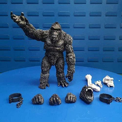 Mdcgok KIJIGHG Kong: Skull Island Figuren 7 Pouces modèle Statue Anime Jouets PVC-Sammlung...