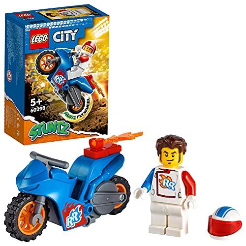 LEGO 60298 City Stuntz Raketen-Stuntbike, Set mit...