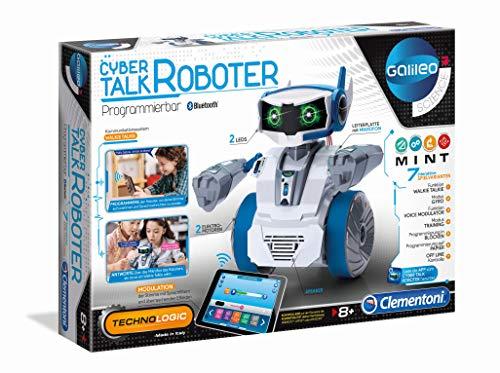 Clementoni 59142 Galileo Science – Cyber Talk Roboter, Robotik...