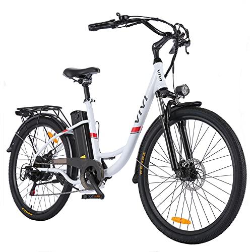 VIVI Elektrofahrrad Ebike 26 Zoll Pedelec Fahrrad für Damen...