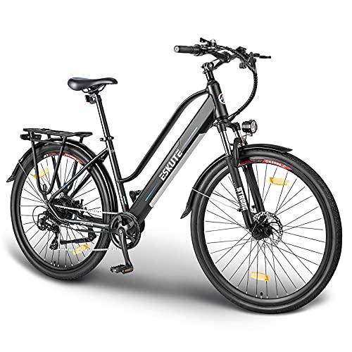 ESKUTE Elektrofahrrad 28 Zoll Pedelec E-Citybike Wayfarer E-Bike...