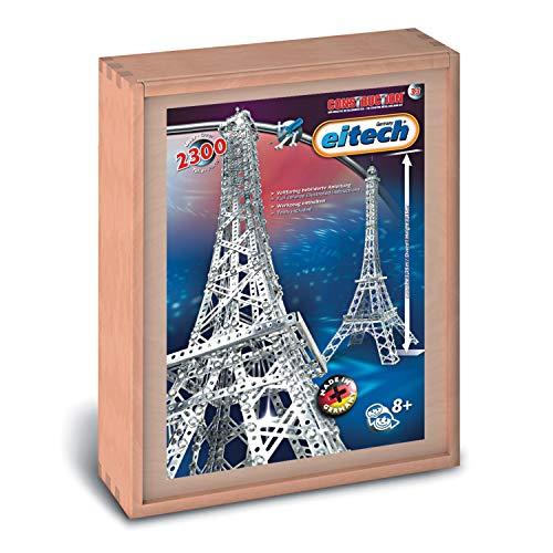 Eitech 00033 Modellbaukästen-Eiffelturm Deluxe Set, 2300-teilig,...
