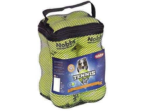 Nobby Tennisball M 6,5 cm; 12er Netztasche