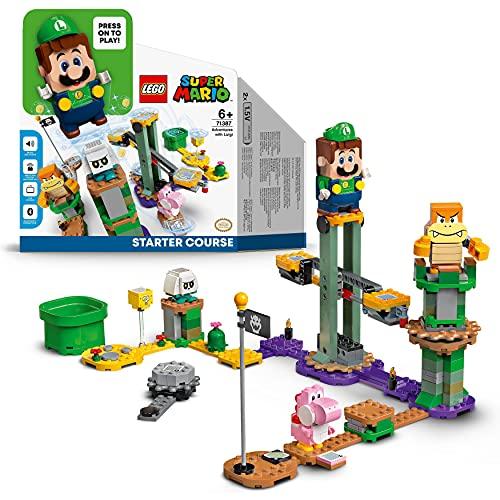 LEGO 71387 Super Mario Abenteuer mit Luigi – Starterset,...