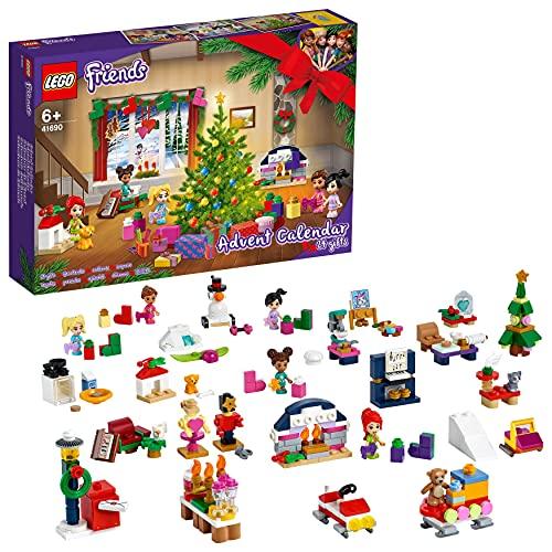 LEGO 41690 Friends Adventskalender 2021 mit Weihnachtsspielzeug...