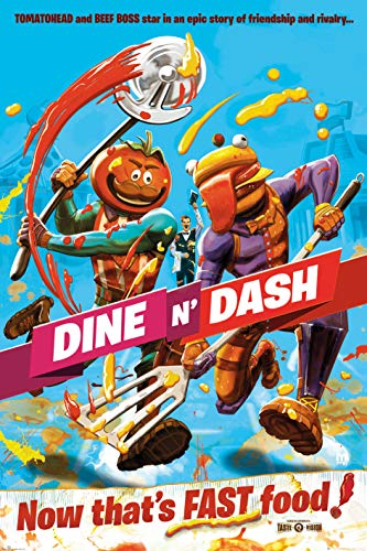 Fortnite Poster Dine N' Dash Tomatohead And Beef Boss