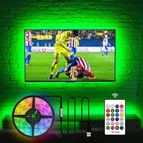 USB TV Hintergrundbeleuchtung für 70 75 80 82 Zoll Fernseher,...