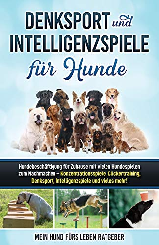 Denksport und Intelligenzspiele für Hunde: Hundebeschäftigung...