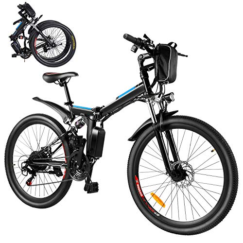 Elektrofahrrad E-Bike, 26'' Ebike Klapprad 250W Elektrisches...