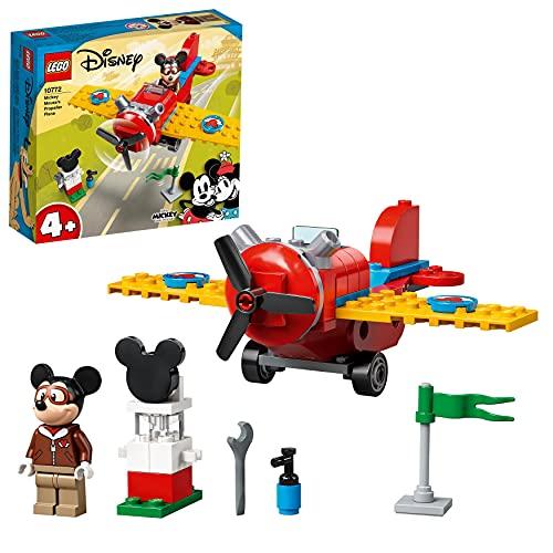 LEGO 10772 Mickey and Friends Mickys Propellerflugzeug, Micky...