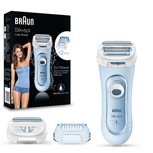 Braun Silk-epil Lady Shaver 5-160 3-In-1 Kabelloser Wet&Dry...