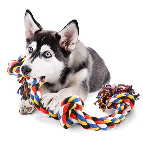 COCHIE Hundespielzeug Seil für Große Hunde, Spielzeug Hund Tau...