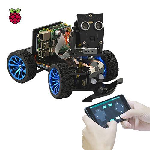Adeept Mars Rover PiCar-B WLAN-Smart-Robot-Auto-Kit für Raspberry Pi 4/3 Modell B+/B,...