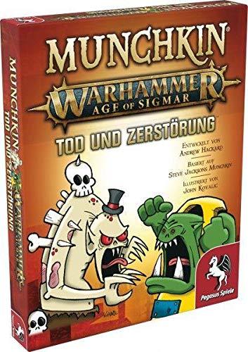 Pegasus Spiele 17021G - Munchkin Warhammer Age of Sigmar: Tod und...