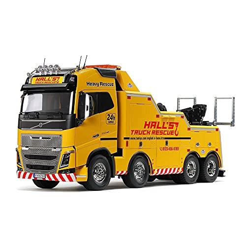 TAMIYA 56362 1:14 Volvo FH16 Abschlepper 8x4, Bausatz zum...