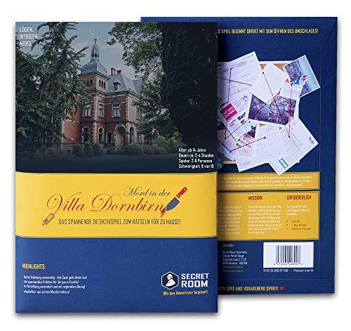 Secret Room Detektiv Spiel - Rätselbuch Mord in der Villa...