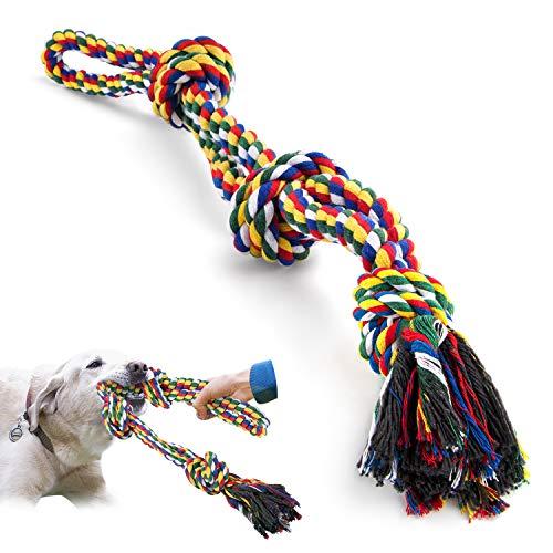 VIEWLON Hundespielzeug Seil,Tau Hund Spielzeug,Hund Seil...