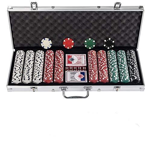 Display4top Pokerkoffer , Laser Pokerchips Poker 12 Gramm , 2...