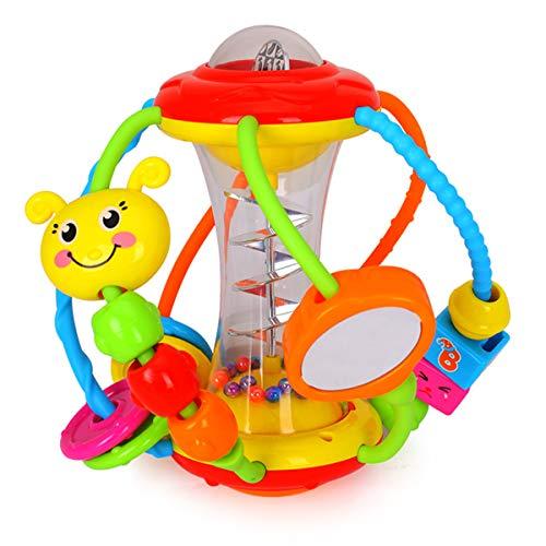 HOLA Motorikball Baby Spielzeug ab 6 Monate, Rassel Baby...