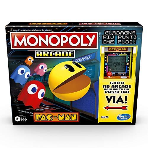 Hasbro Gaming Monopoly Arcade Pac-Man Box für Kinder ab 8 Jahren