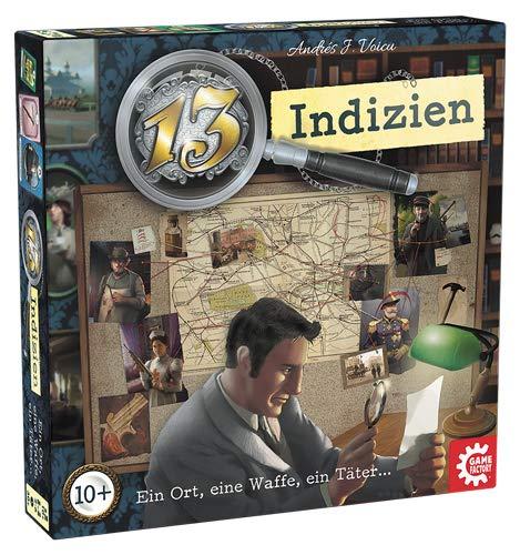Game Factory 646217 13 Indizien, spannendes Krimispiel,...