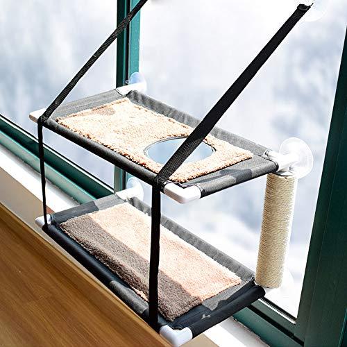 XianghuangTechnology Katzen-Fenster-Hängematte Sitzstange...