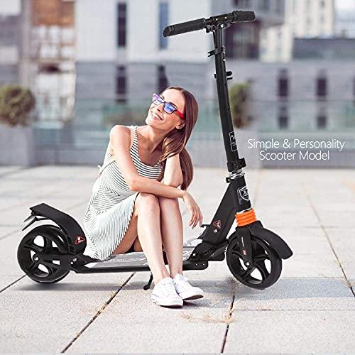 Hesyovy Leicht Scooter T-Style Stabile, aus Aluminiumlegierung,...