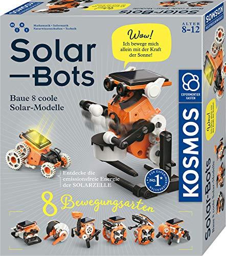 KOSMOS Solar Bots, Baue 8 Solar-Modelle, Bausatz für Roboter mit...