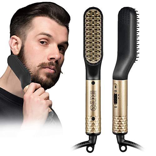 Bartglätter Bürste, Bartglätter für Männer, Elektrische...