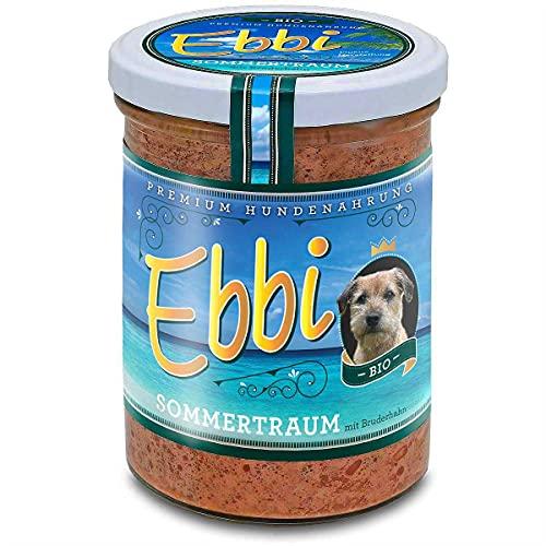 Ebbi Bio Sommertraum mit Geflügel, Hühnerherzen, Eier, Hanföl,...