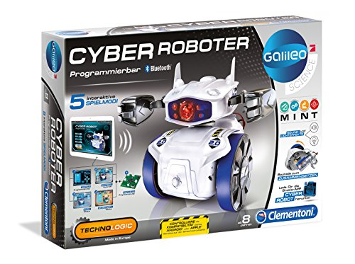 Clementoni 69381.8 - Galileo - Cyber Roboter